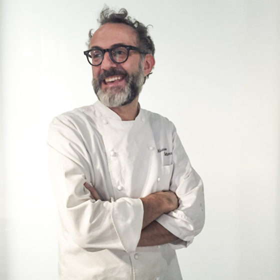 Portrait of Massimo Bottura